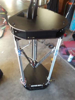 SeeMeCNC Rostock MAX v3.2 3D Printer for Sale in Brentwood, CA