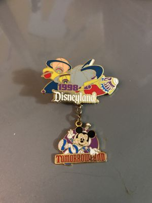 1998 Tomorrow land Disney pin for Sale in Hayward, CA