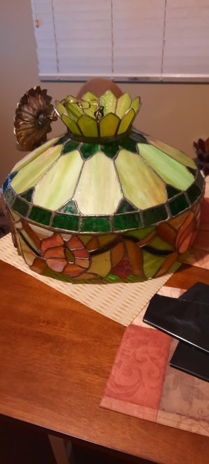 Vintage Slag Glass Pendant Light for Sale in Damascus, MD