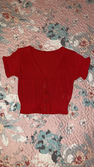 New Shein Red Top (Size S/XS) for Sale in Chula Vista, CA