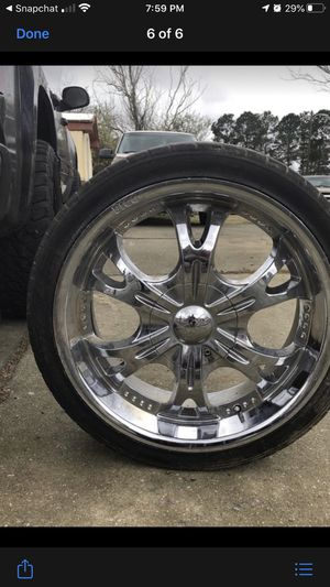 Grand Victoria Ford Rims 20' for Sale in Clayton, NC