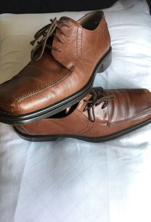Brown Leather Shoes(11)(Made in Italy/Alfani) orig-$200 for Sale in San Diego, CA