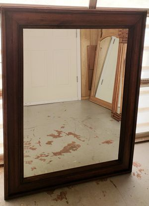 """*Solid Wood Mirror* 44½""""L × 34"""" W for Sale in Palm Bay, FL"""