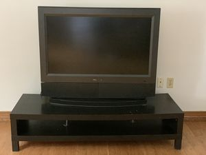 """Olevia 42"""" with Coffee/TV Table for Sale in Laredo, TX"""