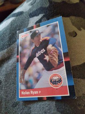 Nolan Ryan ,, Collectors Rare baseball card for Sale in Portland, OR