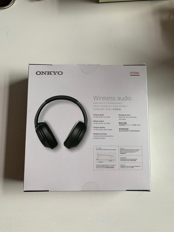 ONKYO Wireless noise canceling headphones