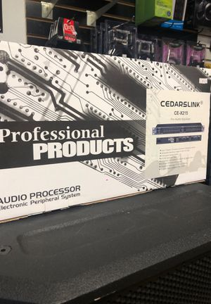 Cedarslink CE-X215 Pro Audio Equalizer for Sale in Modesto, CA