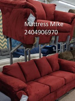 New Ashley Furniture Polyester Salsa Sofa And Loveseats for Sale in Hyattsville,  MD