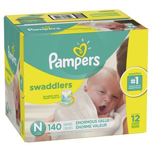 Pampers swaddlers/ mini pack 240 diapers for Sale in South El Monte, CA