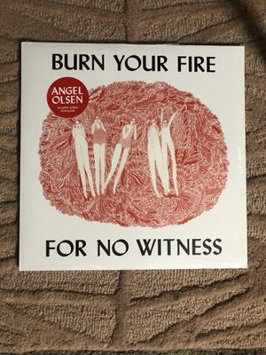Angel Olsen Burn Your Fire For No Witness New Sealed Vinyl for Sale in Brookline, MA