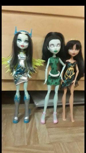 Monster high doll lot for Sale in Phoenix, AZ