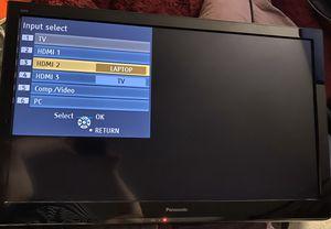 """Panasonic TC-L37U3 37"""" Class VIERA LCD TV for Sale in Charlotte, NC"""