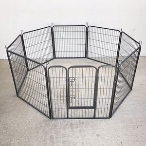 """New in box $90 Heavy Duty 32"""" Tall x 32"""" Wide x 8-Panel Pet Playpen Dog Crate Kennel Exercise Cage Fence for Sale in Whittier, CA"""