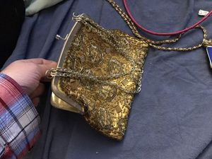 Vintage like beaded gold purse for Sale in Colorado Springs, CO