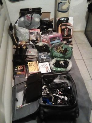 Wine cooler, DVD player, picture frames, DVD movies, etc. All one price. for Sale in Fresno, CA