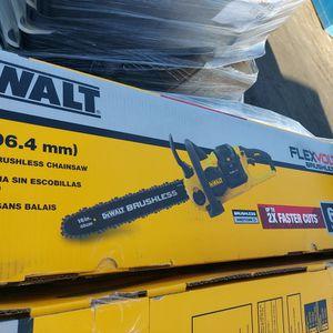 "DEWALT FLEXVOLT BRUSHLESS 16"" CHAINSAW TOOL-ONLY for Sale in Phoenix, AZ"