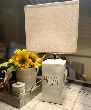 "Rae Dunn lamp ""HOME"" for Sale in Seattle, WA"