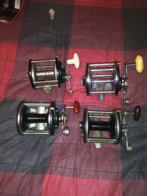 4 Antique Penn Reels all winds and drag work for Sale in Greenacres, FL