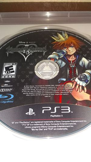 Kingdom Hearts HD 1.5 remix ( PS3) for Sale in Irving, TX