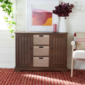 2 Door & 3 Removable Baskets Console Tables for Sale in Miami, FL
