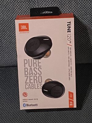 Brand New JBL Tune 120 Wireless Earbuds w/ Charging Case for Sale in Fresno, CA
