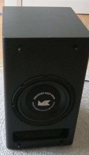 Home Audio - M&K Sound MX-70B Subwoofer for Sale in Black Diamond, WA