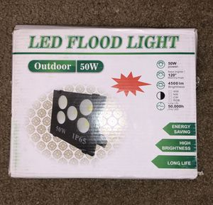 50W LED FLOOD LIGHT for Sale in Tucson, AZ