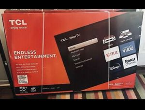 Brand New Smart TV 55 inch TCL Smart TV... for Sale in Las Vegas, NV