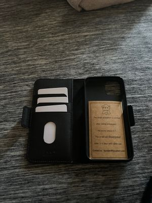iPhone 11 Pro leather full cover case for Sale in Rancho Cucamonga, CA