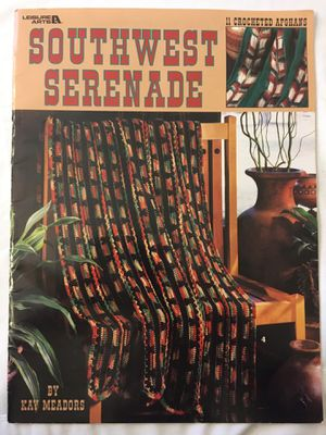 Southwest Serenade Crochet Pattern Book for Sale in Mission, KS