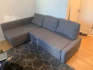 Ikea Sleeper Sectional Couch with Storage for Sale in New York, NY