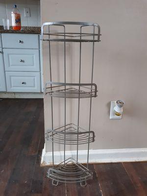 Corner Shelf For Bathroom, 4 shelves for Sale in Durham, NC