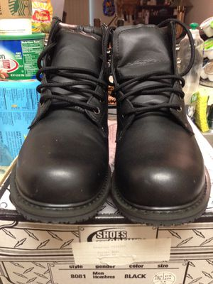 Leather work boots. Water resistant $40 for Sale in San Mateo, CA