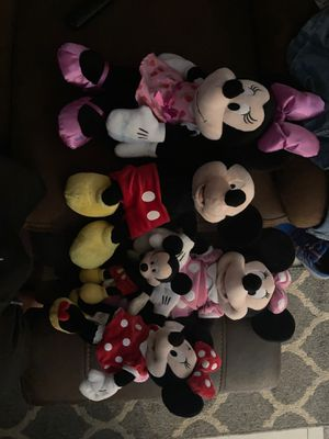 Lot of Minnie and mickey with serials and authenticity from Disney for Sale in Queens, NY