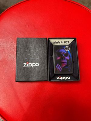 Skeleton zippo lighter for Sale in North Las Vegas, NV