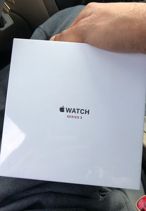 Apple Watch series 3 silver aluminum for Sale in Houston, TX