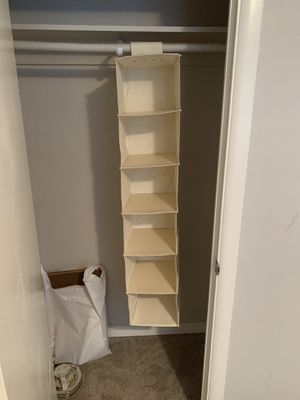 Hanging Closet Organizer! 6 levels. for Sale in Seattle, WA