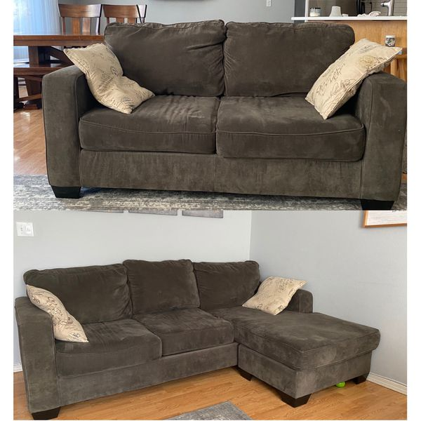 Sectional Sofa And Couch Set Grey