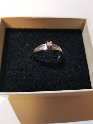 10K White Gold Ring with Diamond for Sale in Fort Worth, TX