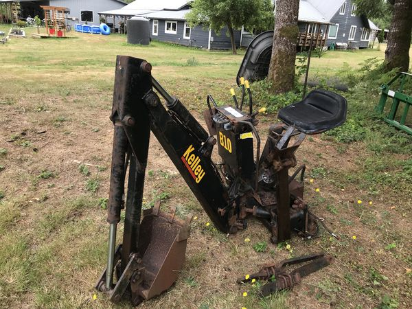 Three point backhoe for Sale in Raymond, WA - OfferUp