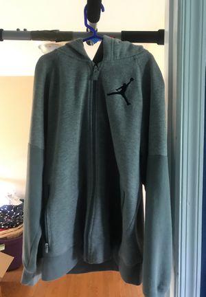 Jordan zip up hoodie boys large for Sale in Manassas, VA