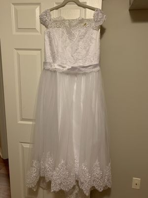 Girl's communion dress size 10 for Sale in Pembroke Pines, FL