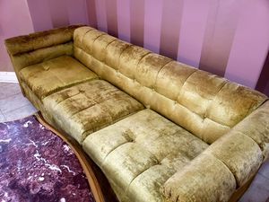 Moving sale...Antique velvet sofa with 2 chairs, very nice condition. for Sale in Manassas Park, VA