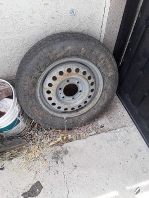6 lug rim with tire for Sale in Spring Valley, NV