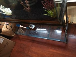 Fish tank with everything for Sale in Cleveland Heights, OH