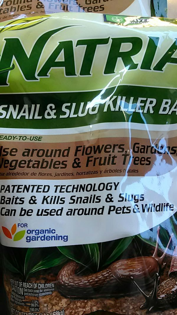Natria snail and slug killer bait buy Bayer Advanced Gardens lawns  Landscaping Exterminating wildlife for Sale in Phoenix, AZ - OfferUp