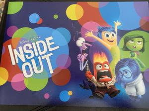 Disney Pixar inside out lithographs for Sale in South San Francisco, CA