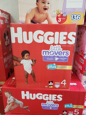 Nuevos Pañales Huggies Baby Diapers Little Movers size 4 : Each Box $49 Firm for Sale in Los Angeles, CA