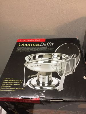 GourmetBuffet 4 Qt Chafing Dish ( New) for Sale in King of Prussia, PA