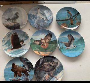 Glass collection plates for Sale in Benson, NC